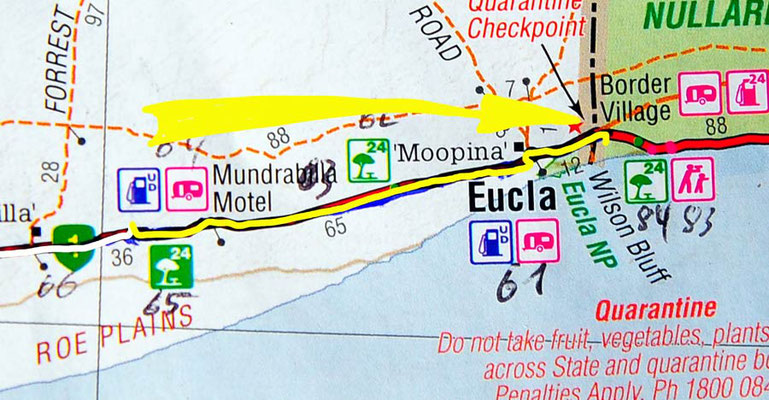 Tag 383: Jilah Rockhole - Border Village R.H.