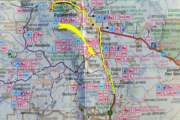 Tag 281: Darwin - Manton Dam R.A.