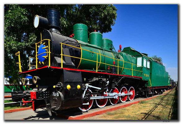 UZ0182.Tashkent.Railway Museum