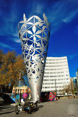 NZ: Solatrike vor Chalice, Christchurch