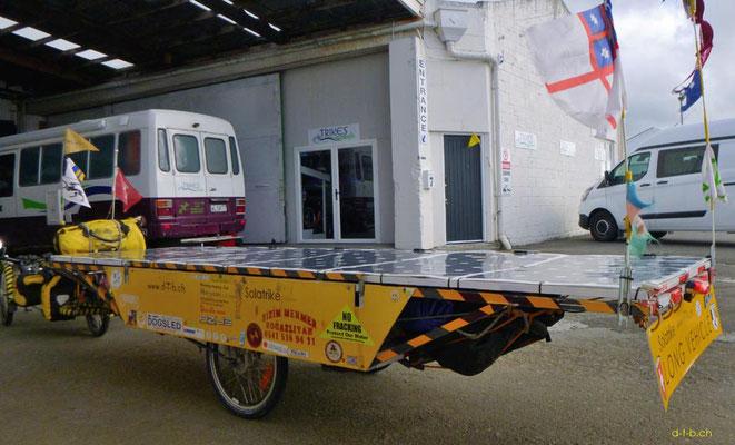NZ: Solatrike erhält Hilfe bei Trikes NZ in Levin