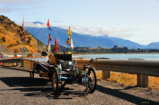 NZ: Solatrike an der Ostküste