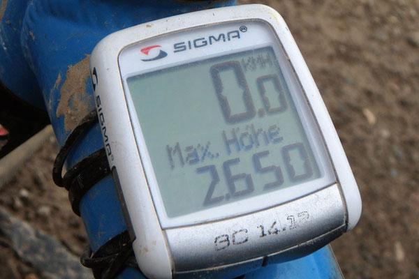 CN.Erneuter Höhenrekord für das Solatrike