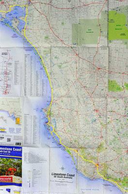 Karte: Limestone Coast