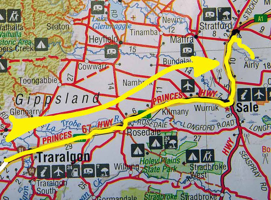Tag 434: Traralgon - Stratford