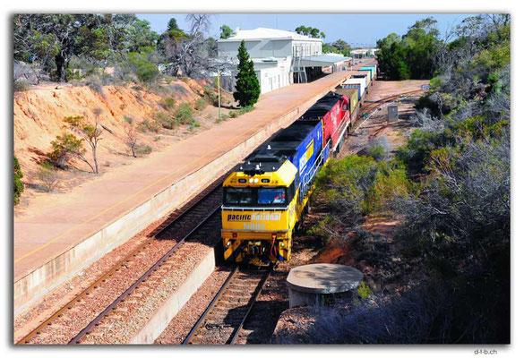 AU1053.Port Augusta.Güterzug