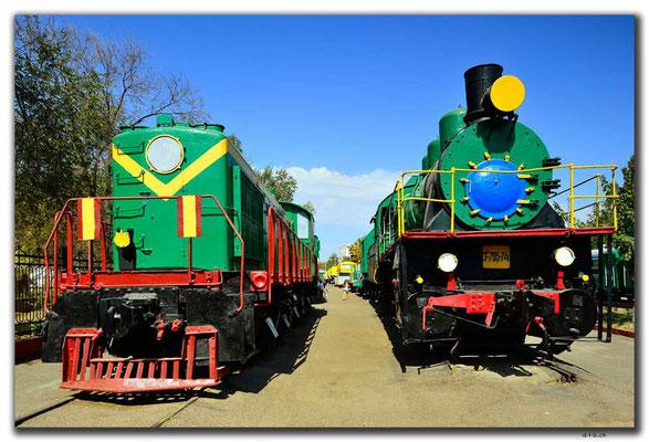 UZ0188.Tashkent.Railway Museum
