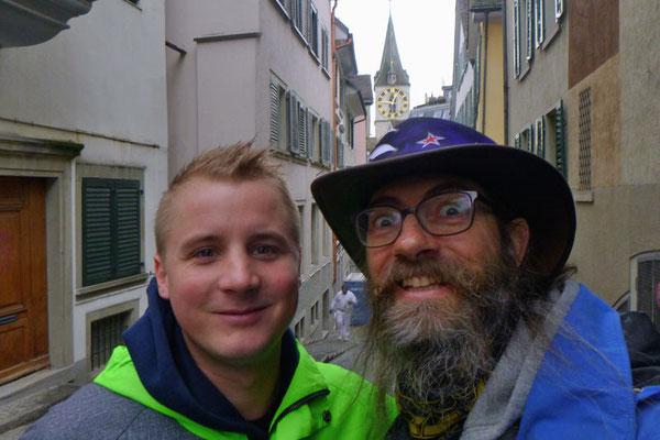 Schweiz, Zürich, Stefan + David