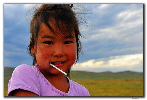 MN0062.Orkhon Valley.Nomadenmädchen