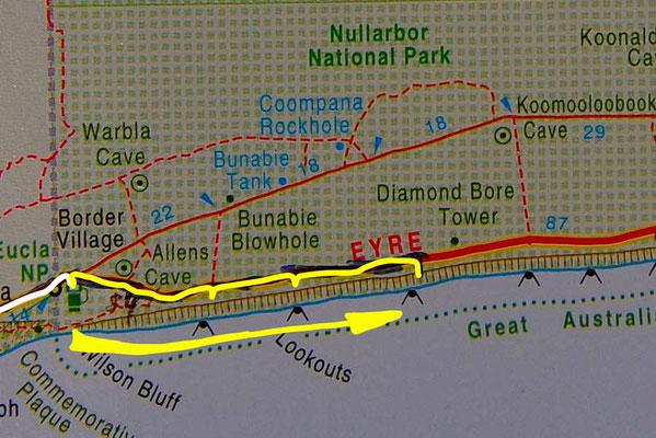 Tag 384: Border Village - 52 Km peg R.A.