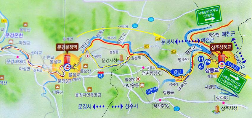 Tag 276: Mungyeong - Ilseon-ri (Kroki, Teil1)