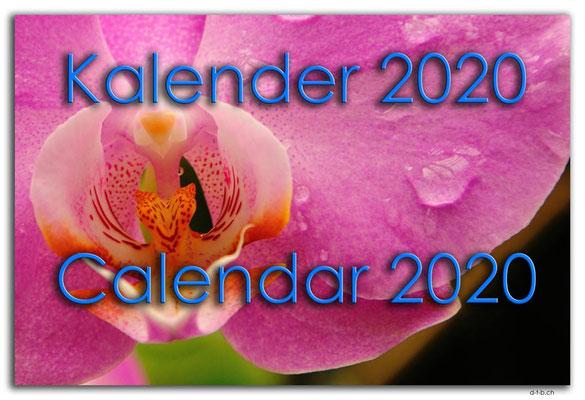 Kalender 2020 / Calendar 2020