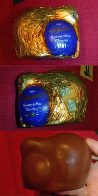 NZ: Schokoladen Kiwi