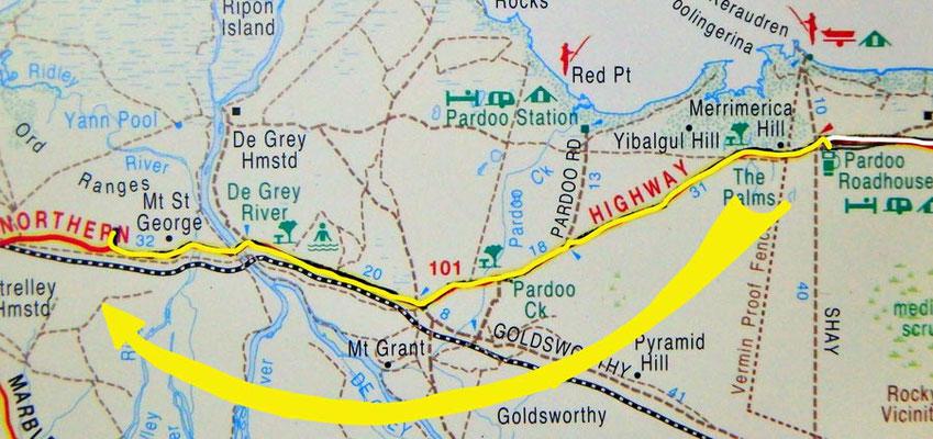 Tag 317: Pardoo Roadhouse - Ord Range