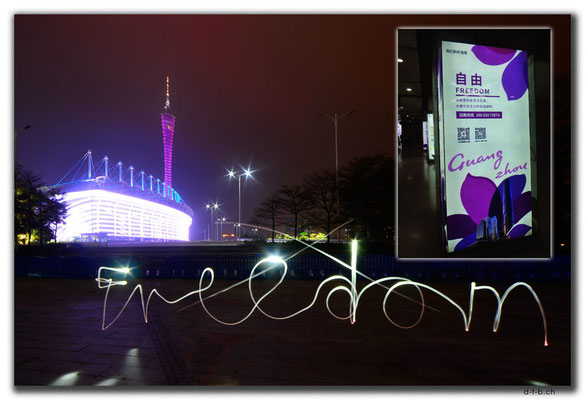 CN0447.Guangzhou.Canton Tower & Stadion. No Freedom