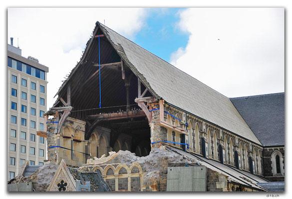 NZ0720.Christchurch.Cathedralruin
