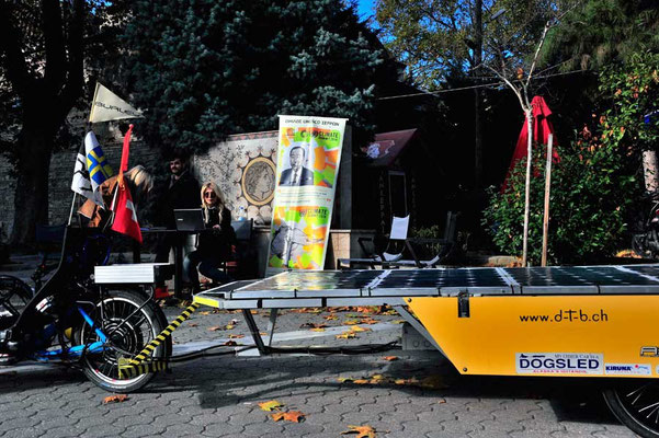 GR: Solatrike in Serres am World wide march for Climate