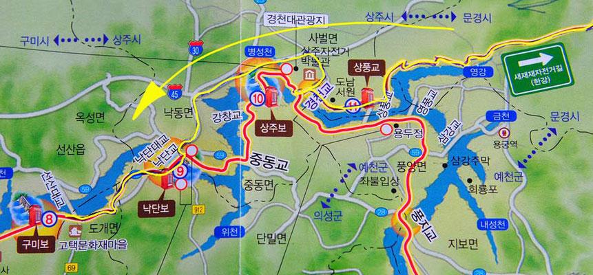 Tag 276: Mungyeong - Ilseon-ri (Kroki, Teil2)