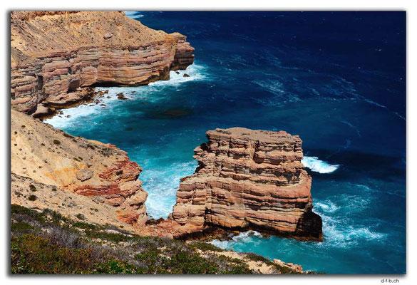 AU0476.Kalbarri N.P.Island Rock