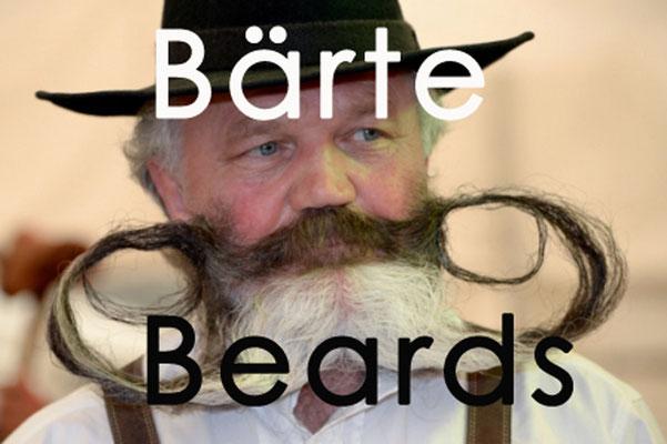 Fotogalerie Bärte / Photogallery Beards