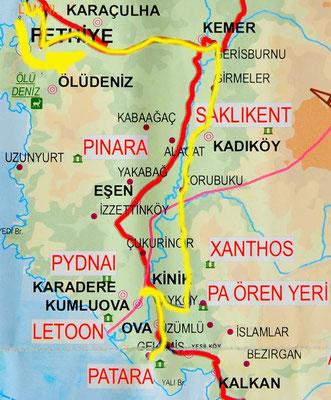 Tag 128: Fethiye - Patara
