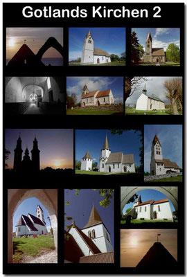 Gotland Kirchen 2 / Gotland churches 2