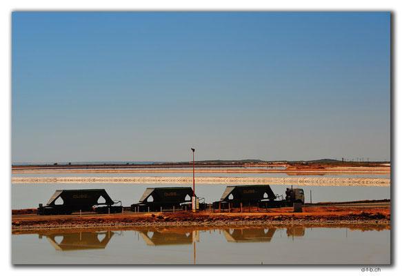 AU0289.Port Hedland,Salzlastwagen