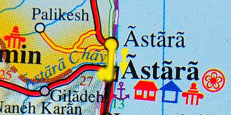 Tag 186: Astara (Azerbaijan) - Astara (Iran)