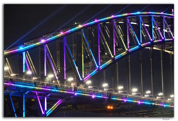 AU1573.Sydney.Vivid.Harbour Bridge