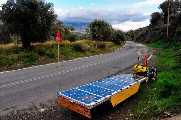 GR: Solatrike in Kreta,Passfahrt