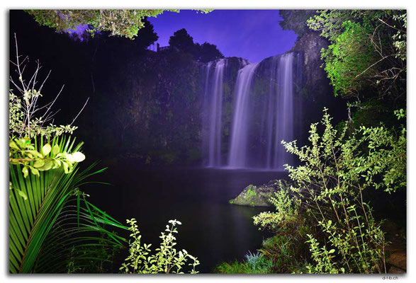 NZ0175.Whangarei Falls at moonlight