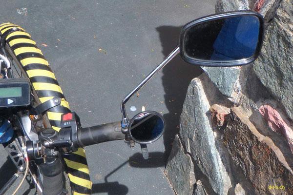 AU:Solatrike at Perth. New mirror right.