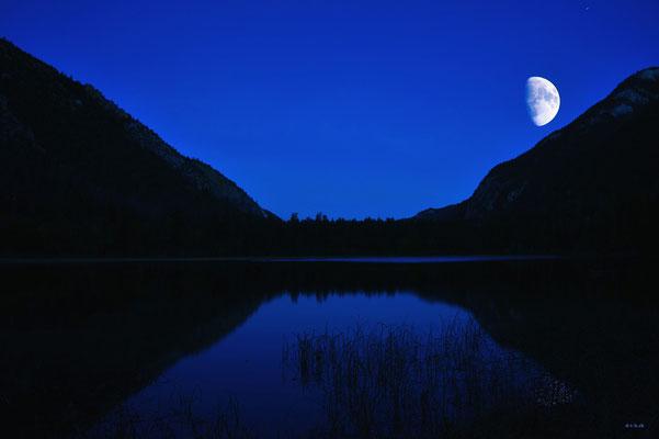 CA0185 Turquoise Lake mit Mond