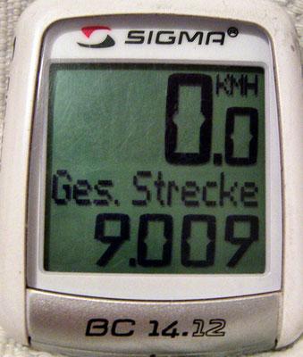 TR: Solatrike hat 9009 Kilometer
