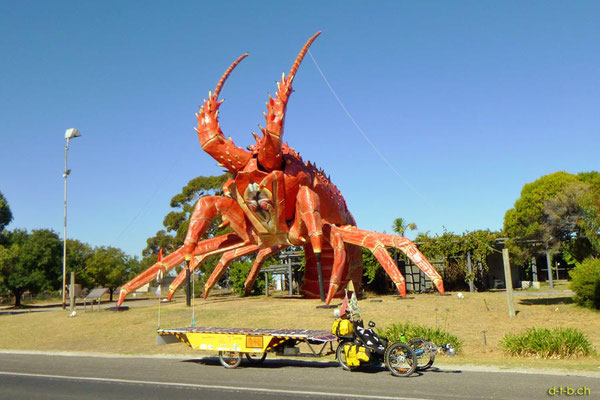 AU: Solatrike beim Big Lobster in Kingston S.E.
