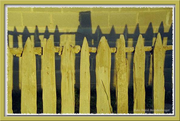 50.Zaun in El Calafate,Argentinien