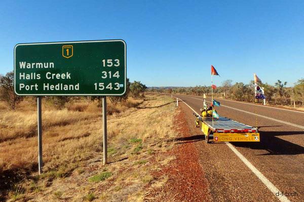 AU: Solatrike und Distanzangabe