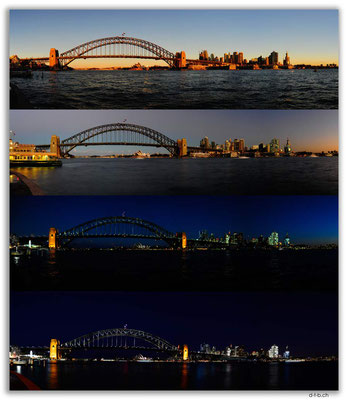 AU1656.Sydney.Opera House & Harbour Bridge.McMahons Point