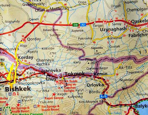 Tag 211: Bishkek - Kyzyltas