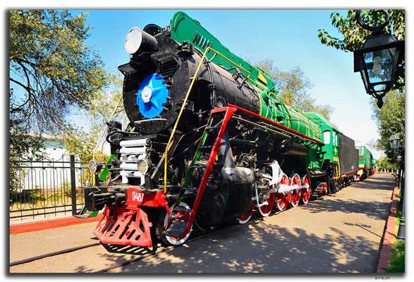 UZ0191.Tashkent.Railway Museum