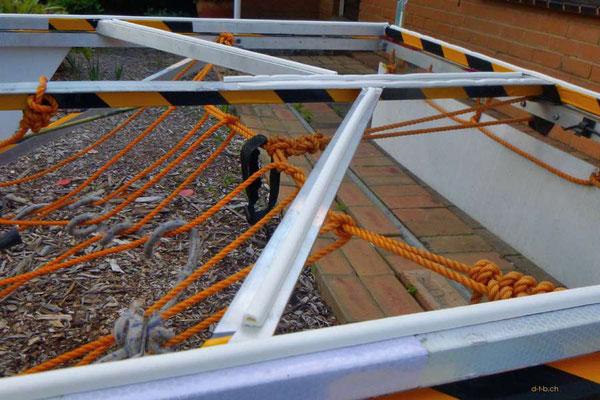 AU: Solatrike mit neuen Verstärkungen im Deckel und Isolationsgummis