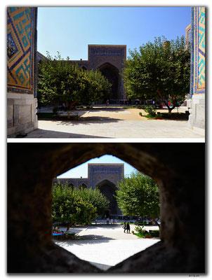 UZ0075.Samarkand.Registan.Ulugbek Medressa