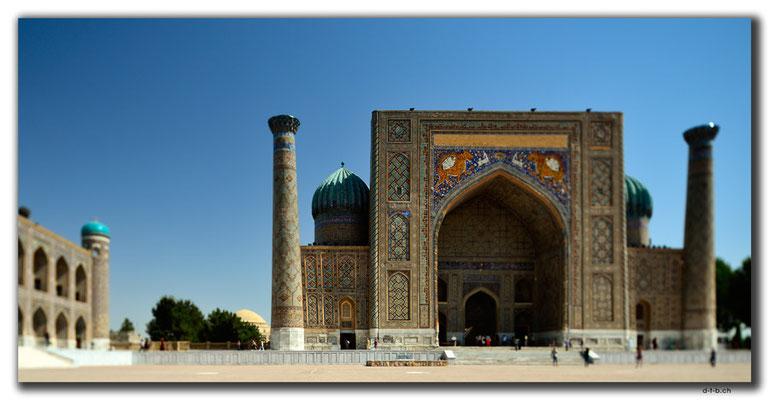 UZ0037.Samarkand.Registan.Sher Dor Medressa
