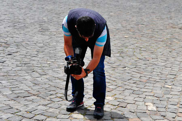 Reporter in Uchisar