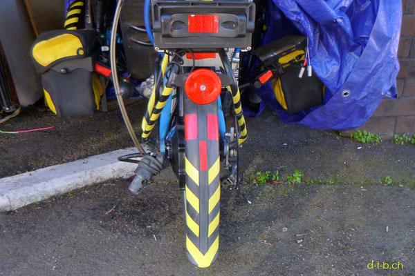 NZ: Solatrike mit neuen gelben Streifen