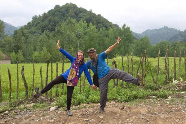 IR: Astara (Photo: Arash) mit Verena