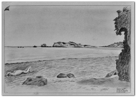 210.Skizze.Stinky Bay.SA.Australia