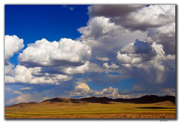 MN0086.Mongolische Landschaft