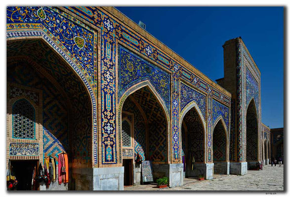UZ0051.Samarkand.Registan.Tilla-Kari Medressa