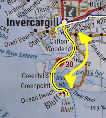 Tag 526: Invercargill - Bluff - Invercargill